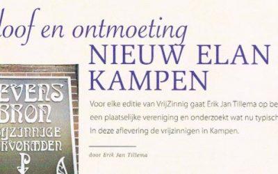 Geloof en ontmoeting; nieuw elan in Kampen
