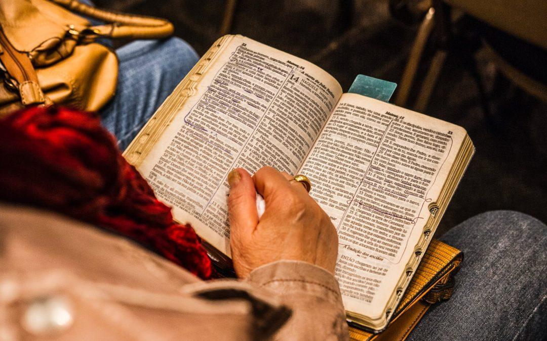 IK GELOOF HET WEL: 'Bidden of Bijbellezen?'